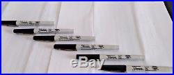 120 SHARPIE EXTRA FINE POINT Black Permanent Marker Pens Series 35000 NEW No BOX