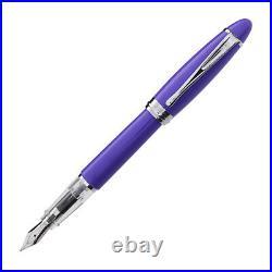 Aurora Ipsilon Demo Colors Fountain Pen in Wise Purple Fine Point NEW