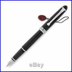 Aurora Nikargenta 88 Fountain Pen Chrome Small Extra Fine Point NEW (810C)