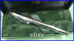 BA'Concorde' Cross Townsend Chrome Fine Point Felt Tip Pen. Unused