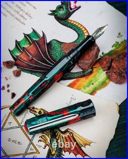 Benu Talisman Fountain Pen in Dragons Blood Fine Point NEW in Box