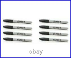 Black Sharpie Fine Point Tip Permanent Marker Pens 1,2,4,6,8,10,12,24,50,100
