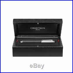 Caran D'ache Varius Fountain Pen Carbon 3000 Fine Point NEW in box