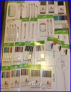 Circut Pens & Tools Lot Of 25 Explore Sets Fine Points Blades Craft Supplies New