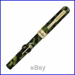 Conklin Mark Twain Crescent Filler Fountain Pen Vintage Green Fine Point