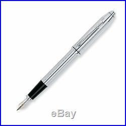 Cross Townsend Fountain Pen Fine Point Platinum 18 karat gold/rhodium AT0046-1FD