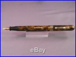 Diamond Point Vintage Fountain Pen- #5 flexible fine nib