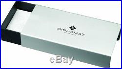 Diplomat Aero Fountain Pen Black Fine Point D40301023 New in Box