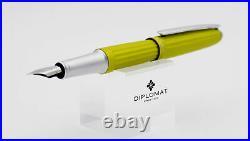 Diplomat Aero Fountain Pen in Citrus Fine Point NEW in Original Box