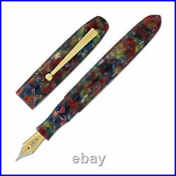 Edison Collier Rock Candy Acrylic Fountain Pen -Extra Fine Point NEW Made in USA