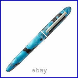 Edison Menlo Fountain Pen in Blue Grotto Extra Fine Point NEW -Made in USA
