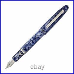 Esterbrook Estie Fountain Pen Blueberry Chrome Trim, Extra Fine Point E636-EF