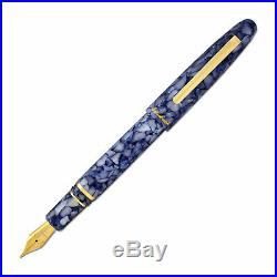 Esterbrook Estie Fountain Pen Blueberry Gold Trim, Fine Point NEW E536-F