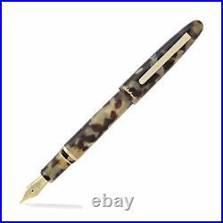 Esterbrook Estie Fountain Pen Tortoise Gold Trim, Fine Point E136-F New in box