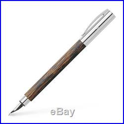 Faber-Castell Ambition Fountain Pen Fine Point Coconut Wood 148171 New