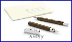 Faber-Castell Ondoro Oak Wood Extra Fine Point Fountain Pen New 147582 New