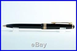 Fine 1956 MONTBLANC MEISTERSTÜCK 115 Ball Point Pen / Lever Clip / BLACK & GOLD