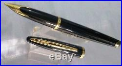 Fountain Waterman Carene Sea Black GT Fine point pen
