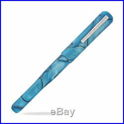 Franklin-Christoph Model 02 Fountain Pen Bermuda Blue Fine Point NEW in box