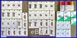 Huge CRICUT 49 Pks Lot Blades Housing Fine Point Debossing Tips Pens! NEW