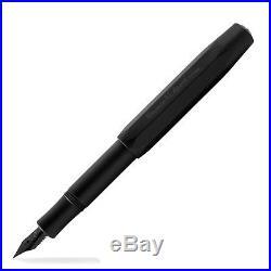 Kaweco AL Sport Fountain Pen All Black Night Edition Fine Point 10001332 NEW