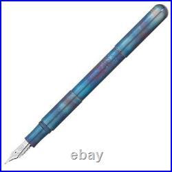 Kaweco Supra Fountain Pen in Fireblue Fine Point NEW in Box 10002064