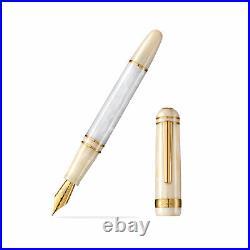 Laban 325 Fountain Pen in Snow Extra Fine Point NEW in Original Box