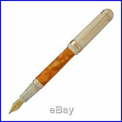 Laban 325 Fountain Pen in Sun Orange Fine Point NEW in box LTF-325-SU-F
