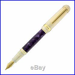 Laban 325 Fountain Pen in Wisteria Purple Fine Point NEW in Original Box