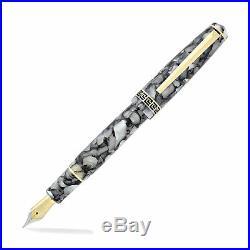 Laban Grecian Fountain Pen Ice Fine Point New in Box LRN-F9892-ICF