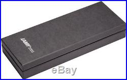 L02-EF F//S wTrack# Lamy 2000 New Stainless Steel Extra Fine Point Fountain Pen
