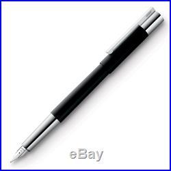 Lamy Scala Black Extra Fine Point Fountain Pen NEW in original box L80EF