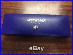 Leman Waterman Gentleman Sterling Silver Fountain Pen Extra Fine Point