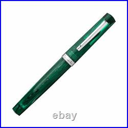 Leonardo Messenger Fountain Pen in Green Limited Edition Extra Fine Point NEW