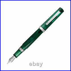 Leonardo Messenger Fountain Pen in Green Limited Edition Fine Point NEW