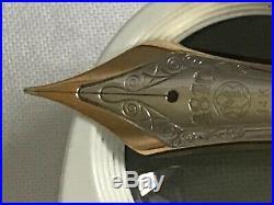 Montblanc 149 Pen's Nib only, (Bi-color, 14K, Fine points), Exc. Condition
