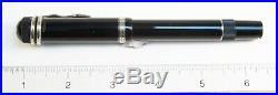 Montblanc Agatha Christie Fountain Pen Fine Point 18kt Nib