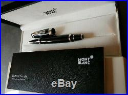 Montblanc Boheme platin Platinum Rollerball Fineliner (Ballpen, Ballpoint pen)NEU