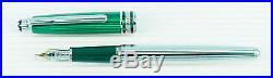 Montblanc Czar Nikolai Fountain Pen Platinum New In Box Fine Point