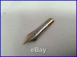 Montblanc Diplomat 149 Fountain Pen 14k Fine Point Replacement Nib Unit 1980s