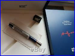 Montblanc Great Characters Andy Warhol Rollerball(Fineliner)Ballpoint Pen NEU OV
