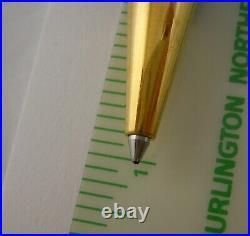 Montblanc Meisterstuck Ballpoint Pen Black Gold 164 Fine Point Blk VG GERMANY