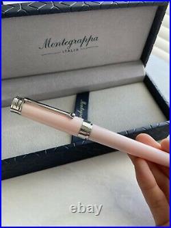 Montegrappa Fine Point Fountain Pen Parola Crayon Pink