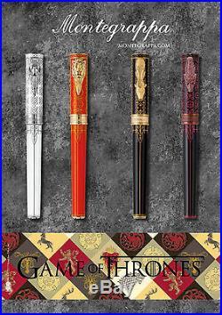 Montegrappa Game of Thrones Targaryen Fine Point Fountain Pen-NEW (ISGOT2TY)
