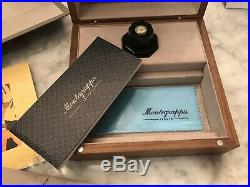 Montegrappa Limited Edition Nazionale Flex Marbled Green Fountain Pen Fine Point