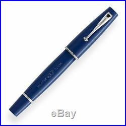 Montegrappa Monte Grappa Fountain Pen in Navy Blue Extra Fine Point ISMGR1AB