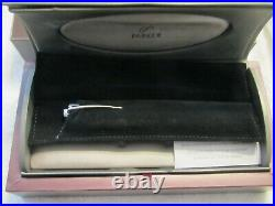 NEW PARKER 100 OPAL SILVER ST FOUNTAIN PEN FINE Point PARKER Discontinued Finish
