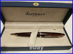 NEW Waterman Carene Amber Fountain Pen, Fine Point (S0700860) and Ballpoint