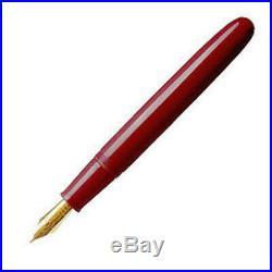Namiki Yukari Royale Collection Fountain Pen Vermilion Urushi Fine Point NEW