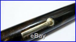 New Diamond Point Fountain Pen, Bronze&black, Firm 14k Fine Nib